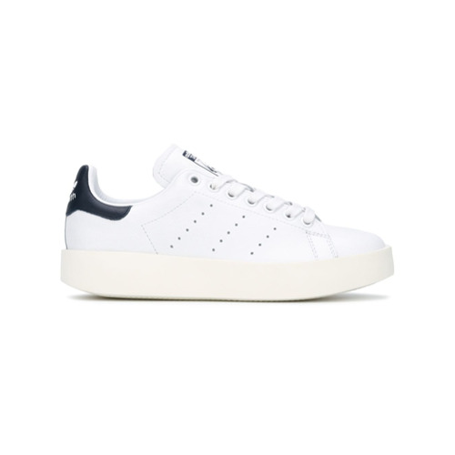 Adidas Tênis 'Stan Smith Bold' de couro - Branco