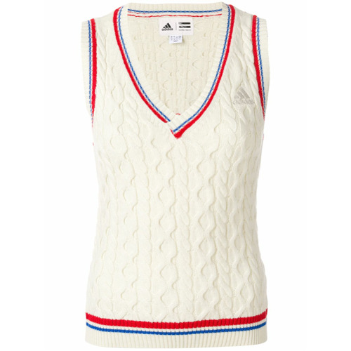 Adidas Regata de tricot 'New York' - Branco