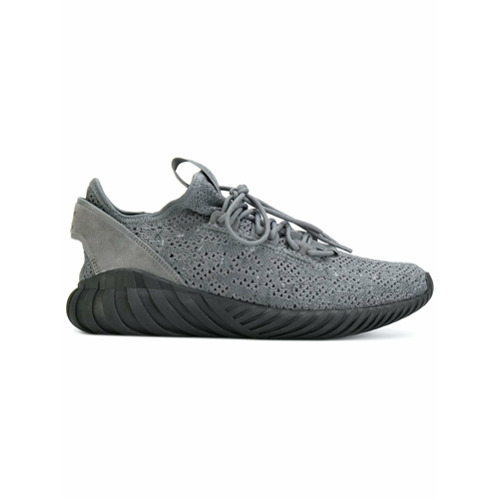 Adidas Tênis 'Tubular Doom Sock Primeknit' - Grey