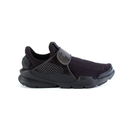 Nike Tênis modelo 'Sock Dart' - Preto