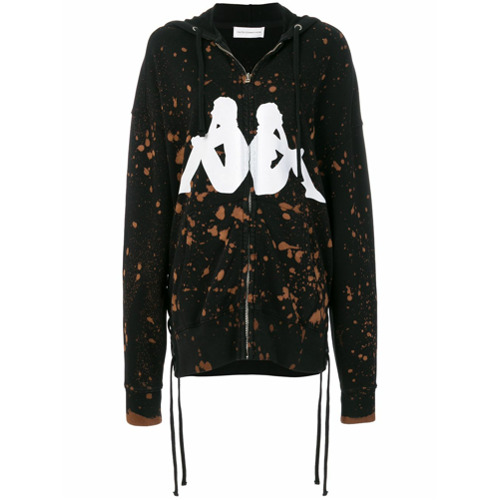 Faith Connexion Moletom oversized 'Faith Connexion x Kappa' - Preto
