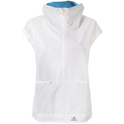 Adidas By Stella Mccartney Jaqueta gola alta - Branco