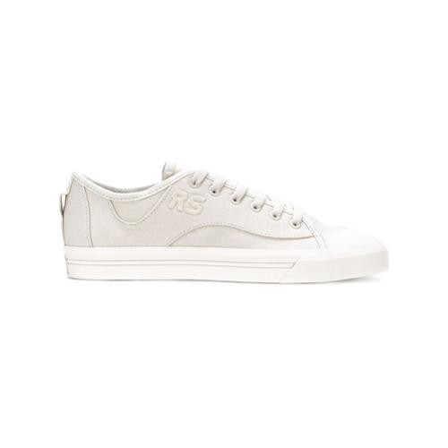 Adidas By Raf Simons Tênis de couro 'Spirit V' - Branco