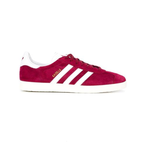 Adidas Tênis de couro e camurça modelo 'Gazelle' - Pink & Purple