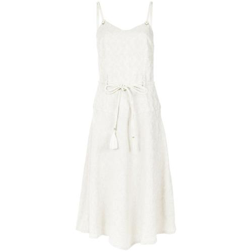 Canal Vestido mídi - Branco