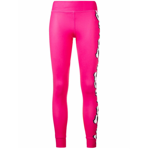 Adidas By Stella Mccartney Legging com estampa floral - Pink & Purple