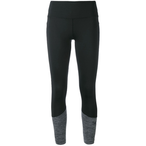 Adidas By Stella Mccartney Calça legging com recortes - Preto