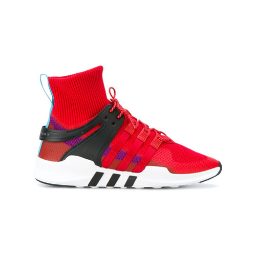 Adidas Tênis de canvas 'Adidas Originals EQT Support ADV Winter' - Vermelho