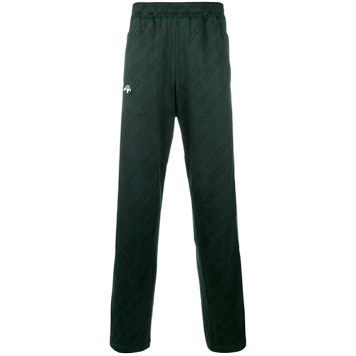 Adidas Originals By Alexander Wang Calça de moletom estampada - Green