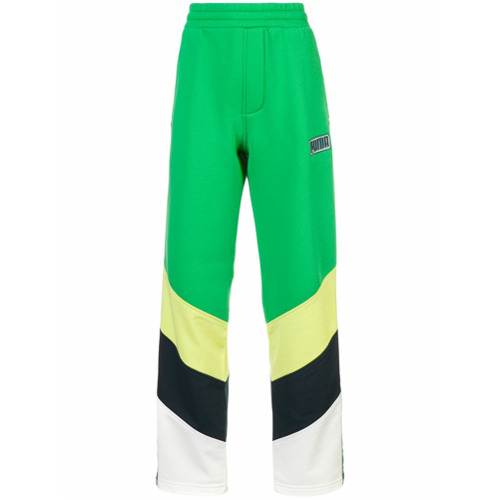 Fenty X Puma Calça esportiva color block - Green