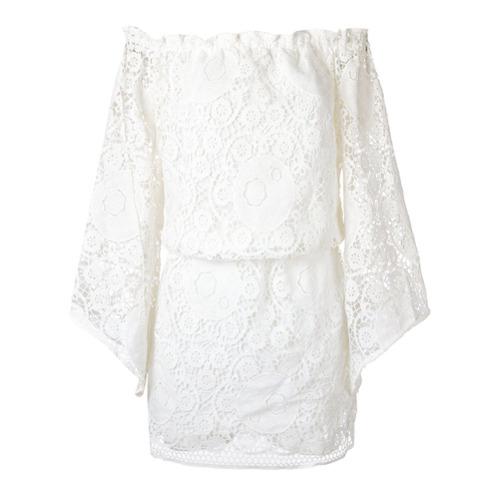 Canal Vestido de renda - Branco