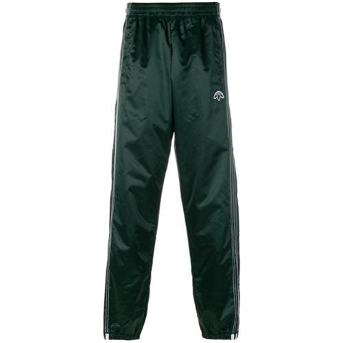 Adidas Originals By Alexander Wang Calça esportiva com listras laterais - Green